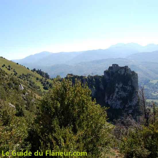 Randonnée à Roquefixade