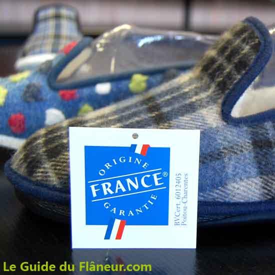 Les pantoufles françaises