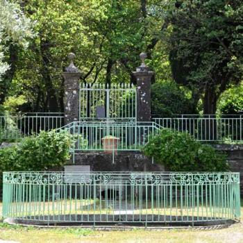 Le parc du château de Malves-Minervois