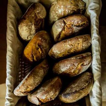 Un paysan boulanger