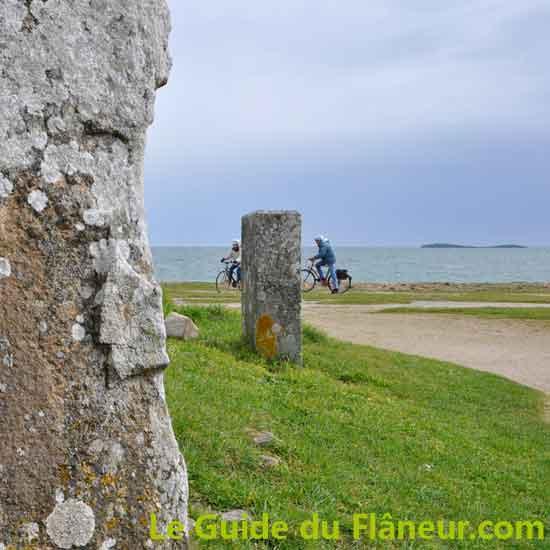 Visite de Locmariaquer dans le Morbihan