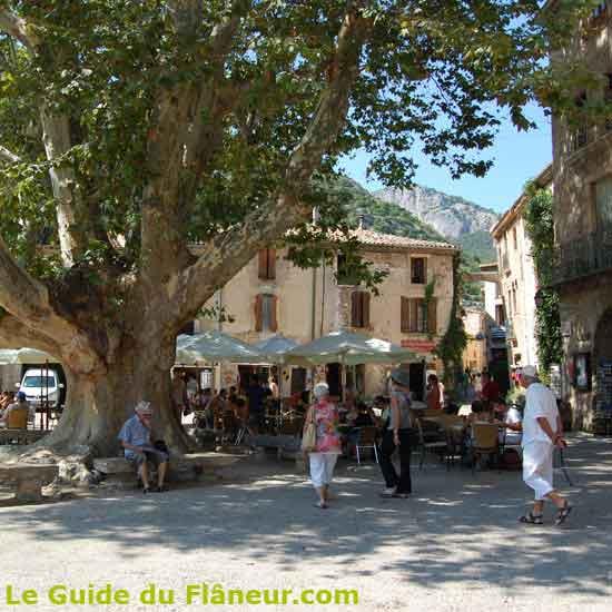 Visite de Saint-Guilhem le Désert
