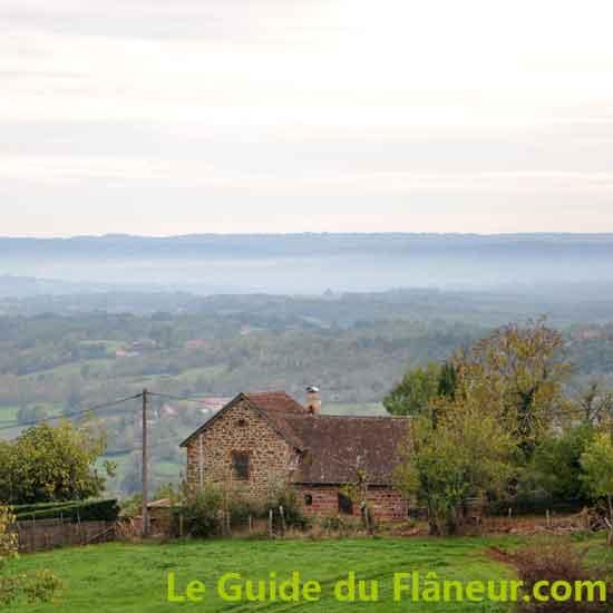 Visite de Collonges-la-Rouge - Corrèze