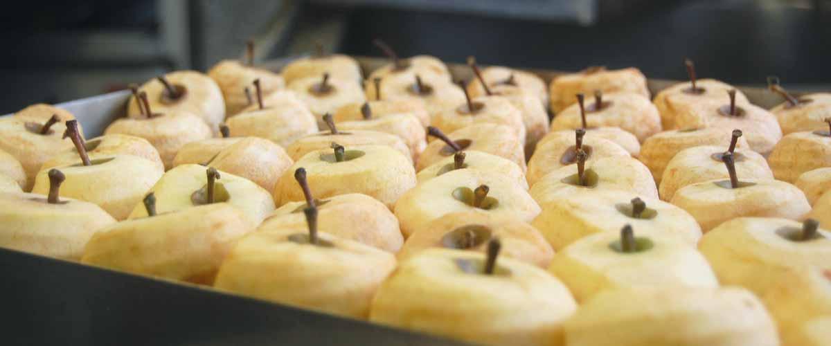 Les pommes tapées de Turquant