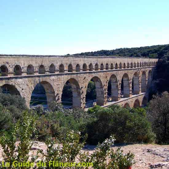 Visite du pont du Gard