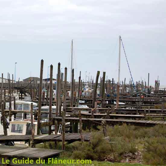 Balade sur le port du Bec en Vendée