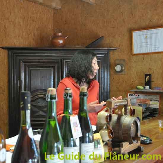 Producteur locaux - Le cidre de Menez Brug à Fouesnant - Finistère