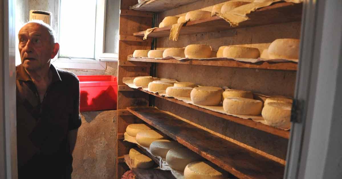 Producteur de fromage de Barousse