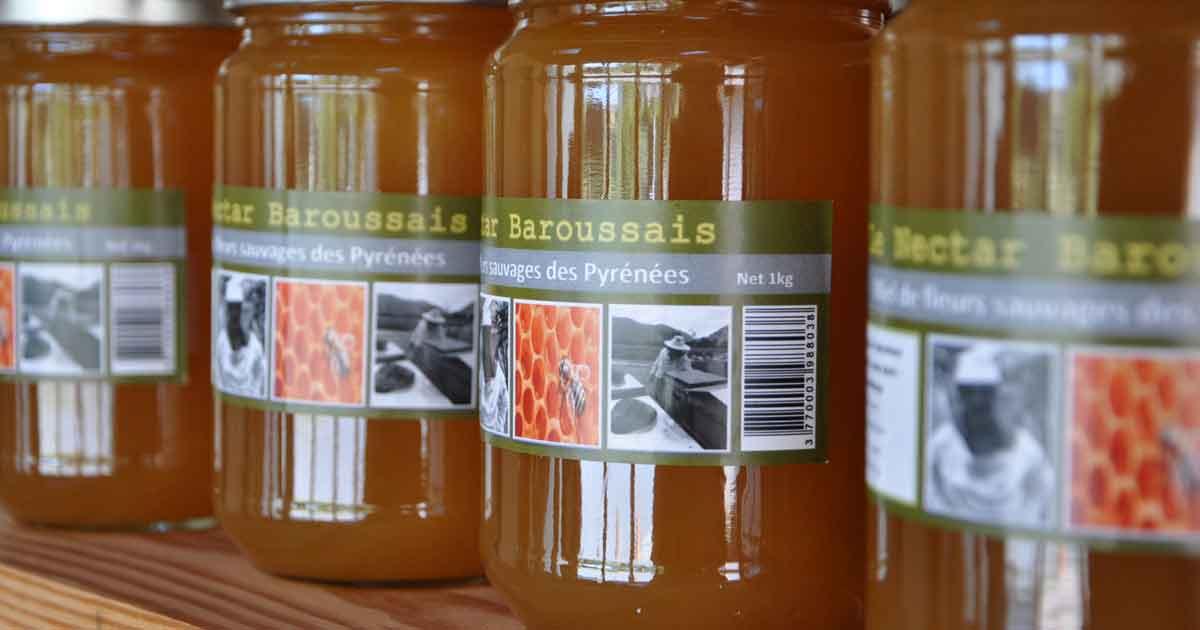 Producteur local de miel à Sarp