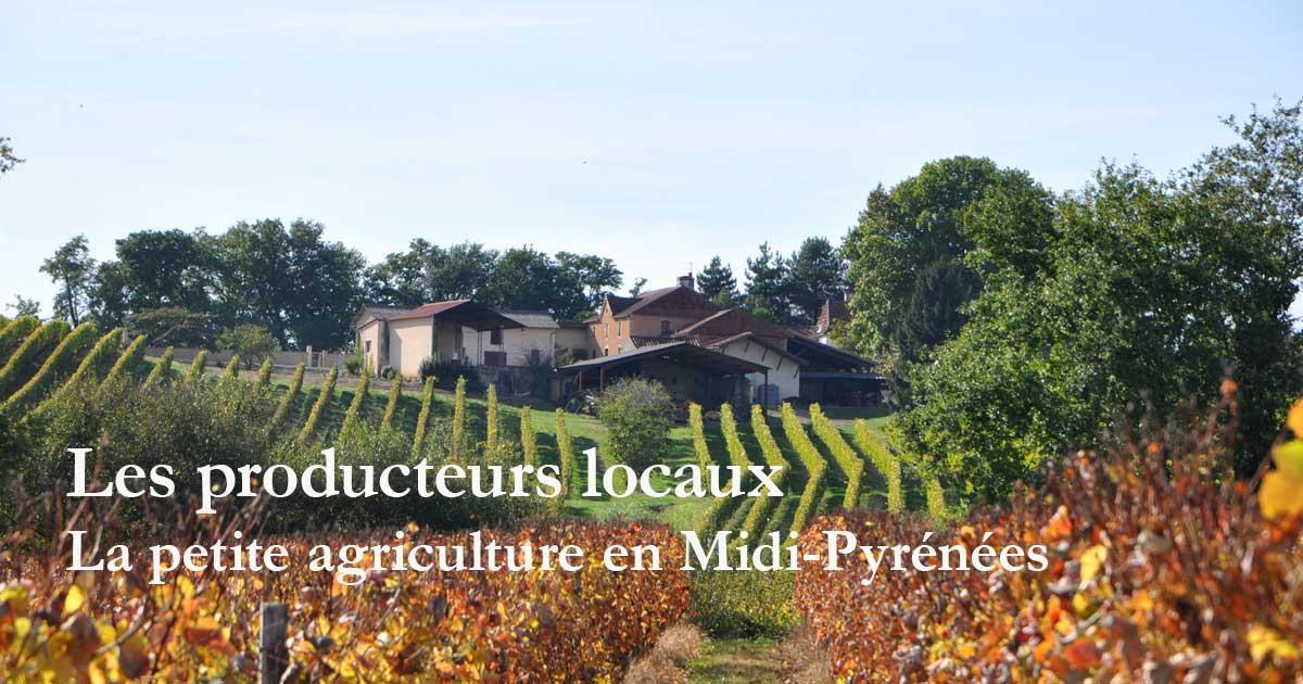 Les producteurs locaux de Midi-Pyrénées