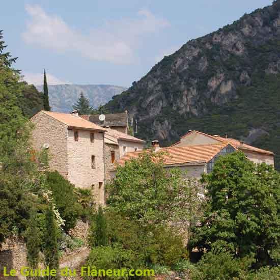 La randonnée de Roquebrun dans l'Hérault