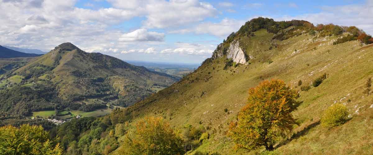 La randonnée de Campan