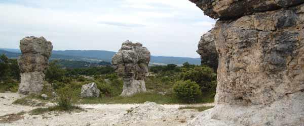 Randonnée à Forcalquier - Provence