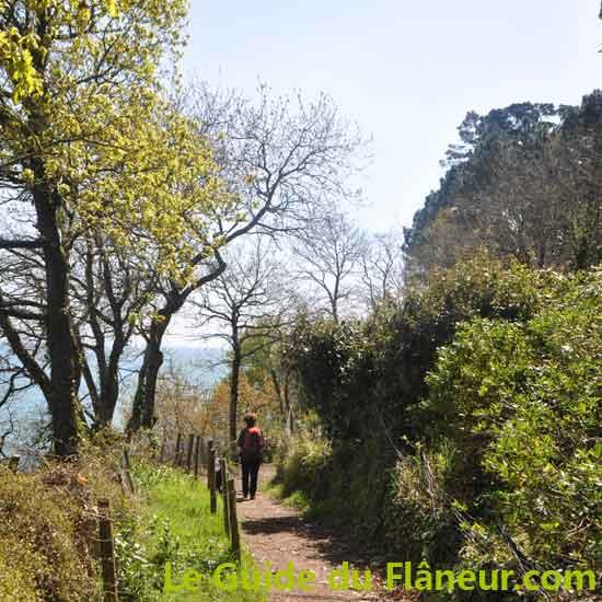 Randonnee à Fouesnant dans le Finistère