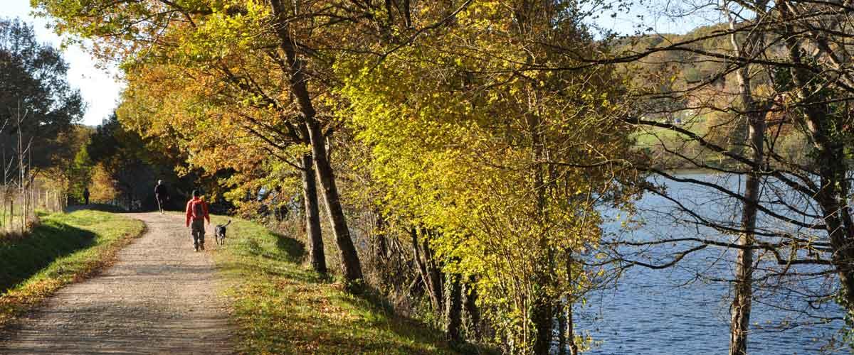 La randonnée de Lissac-sur-Couze