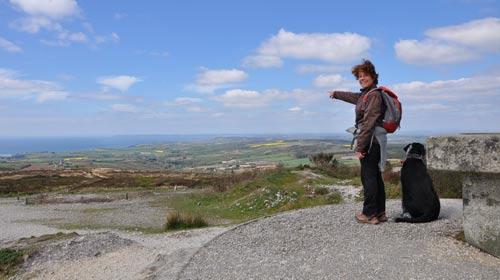 Randonnées pédestres - Le cirduit du Ménez-Hom - Finistère