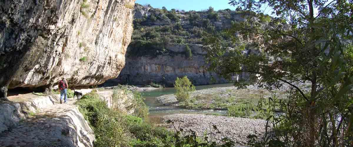La randonnée de Minerve