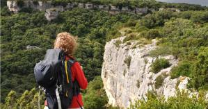 Randonnée pédestre à La Caunette