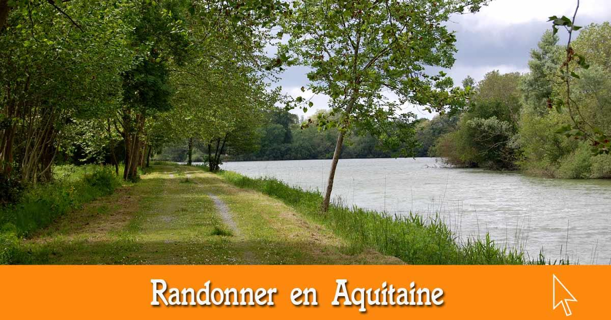 Les randonnées en Aquitaine