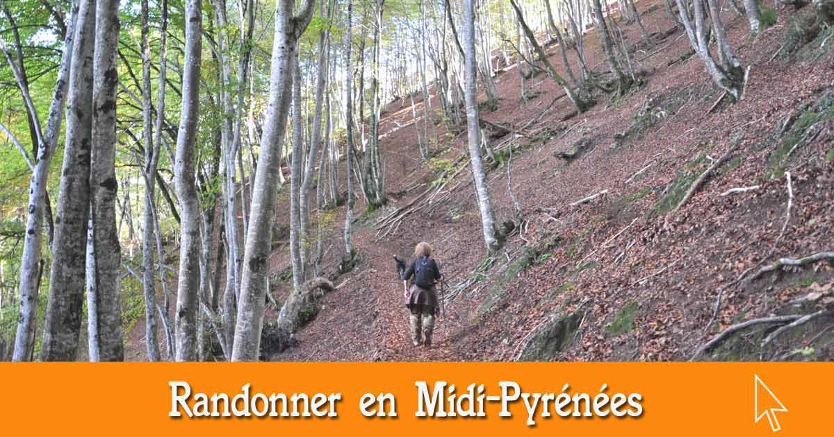 Les randonnées en Midi-Pyrénées