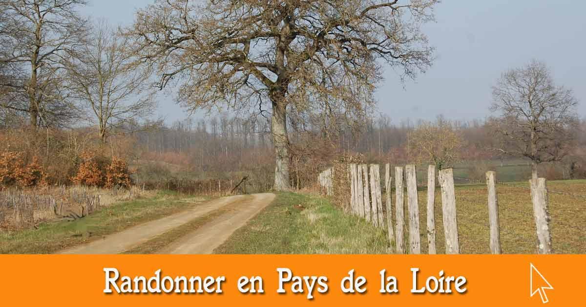 Les randonnées en Pays de la Loire