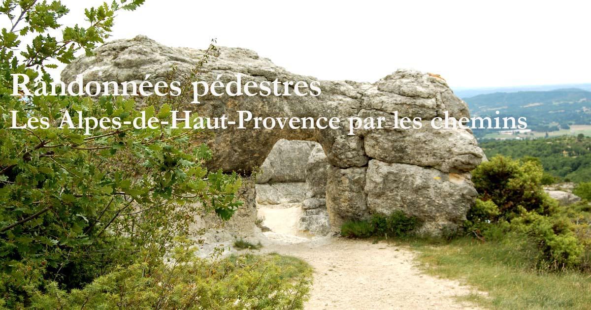 Les randonnées pédestres en Alpes-de-Haute-Provence