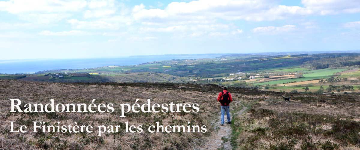 Les randonnées pédestres en Finistère