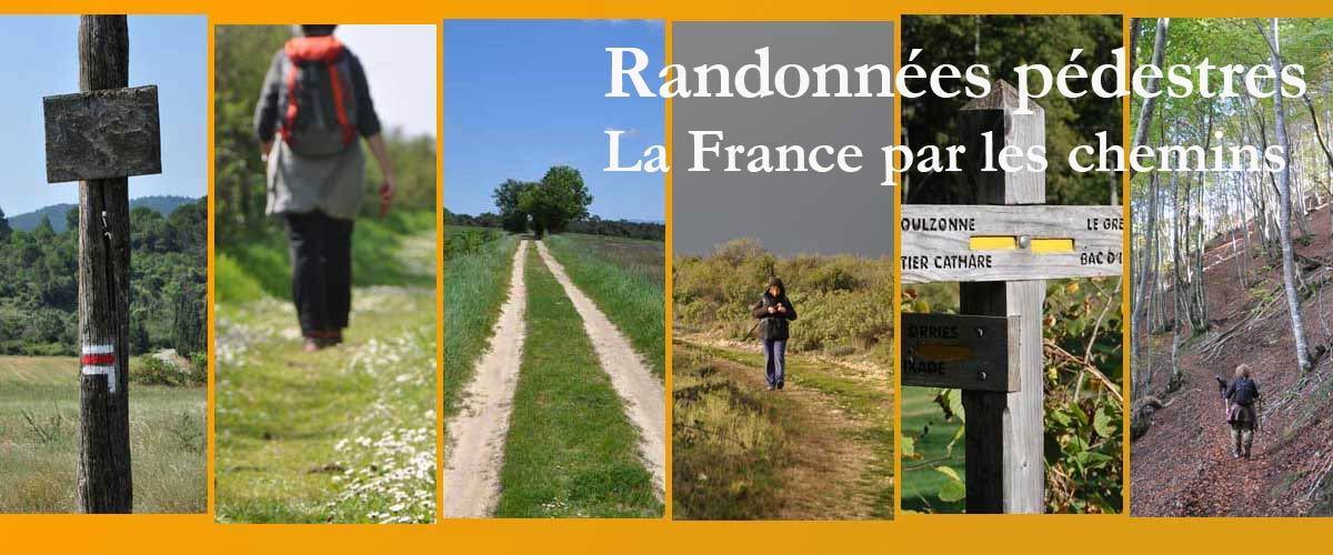 Les randonnées pédestres en France