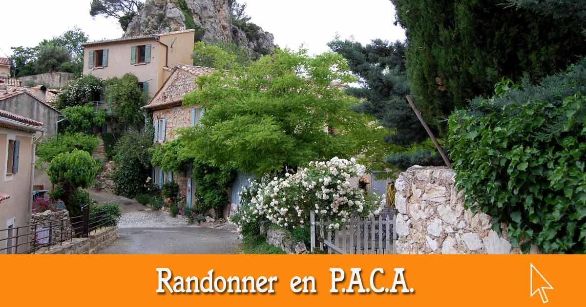 Les randonnées en Provence-Alpes-Côte-d'Azur