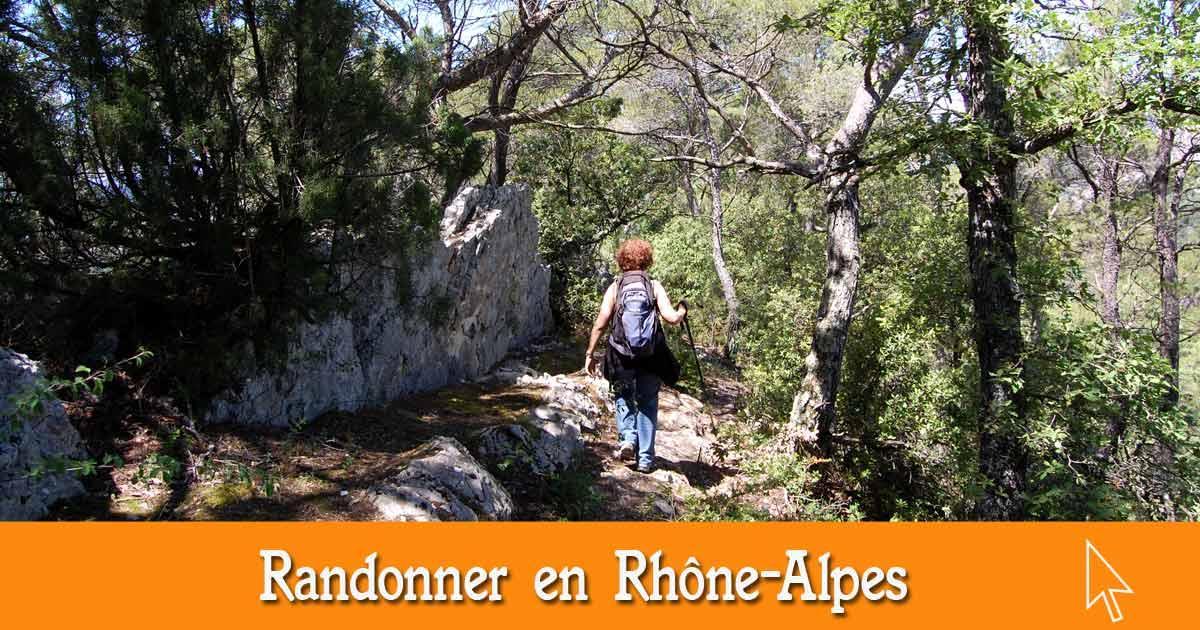 Les randonnées en Rhône-Alpes