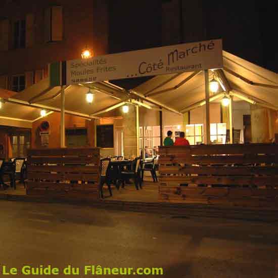 Restaurant côté Marché à Millau