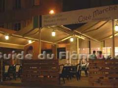 Restaurant cote marche