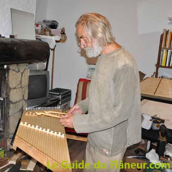 Roger Frood - facteur de Dulcimer à Anères