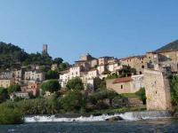 Roquebrun dans l'Hérault