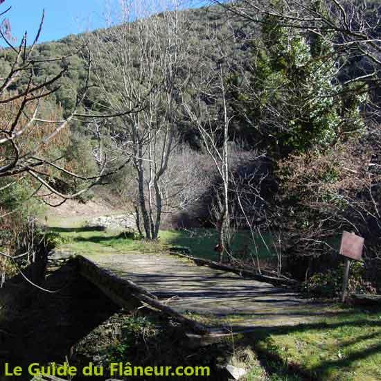 Randonnée à Roquefère dans l'Aude