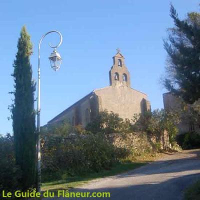 L'église de Roumengoux