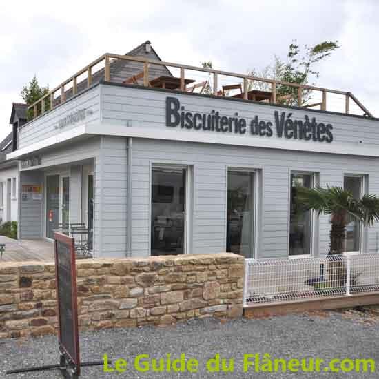La biscuiterie des Vénètes à Saint-Armel