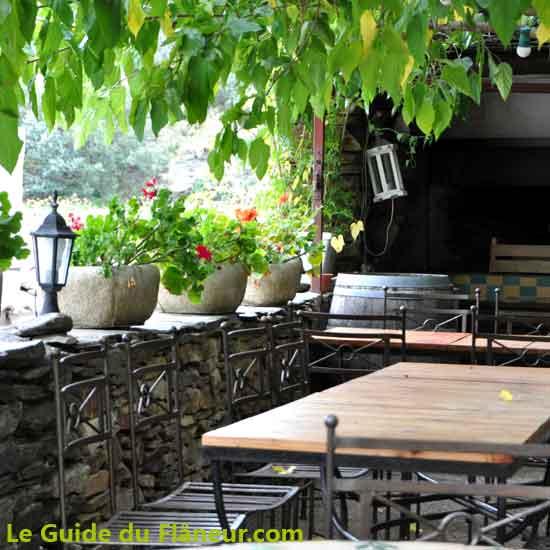 Le restaurant de Roquefère