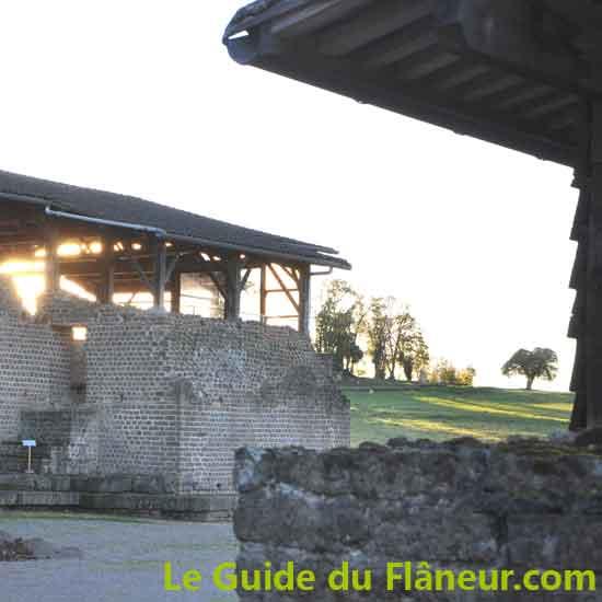 Parc archéologique Cassinomagus - Chassenon - Charente