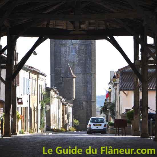 Le village de Bassoues - Gers
