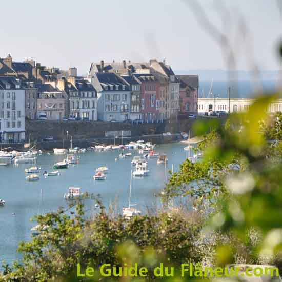 La ville de Douarnenez - Finistère