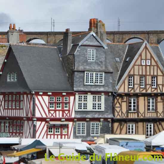 Visite de Morlaix dans le Finistère