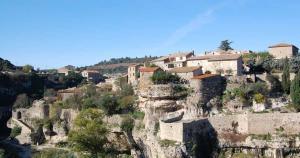 Le village de Minerve