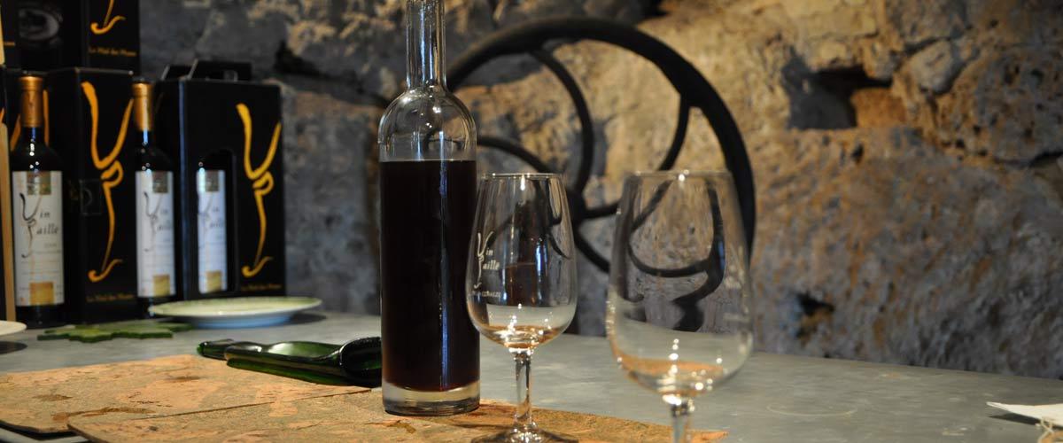 Le vin paillé de Queyssac