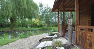 Visiite du jardin de Giroussens