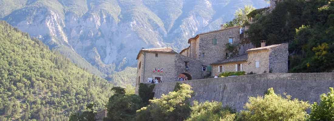 Le village de Brantes - Vaucluse