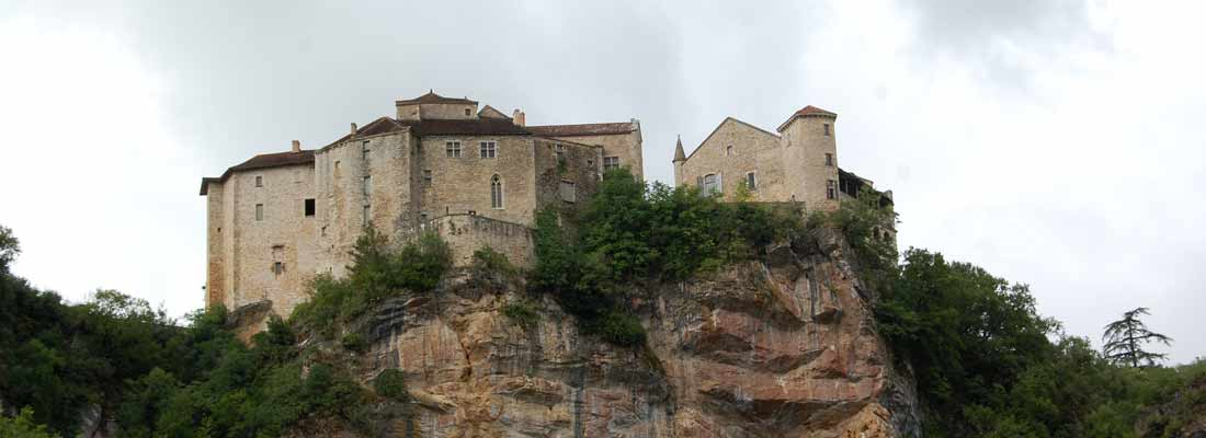 Le village de Bruniquel - Tarn-et-Garonne