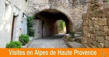 Les visites Alpes-de-Haute-Provence