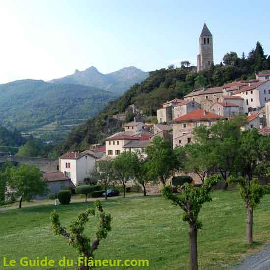 Balade à Olargues dans l'Hérault