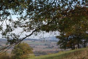 Panorama sur la campagne